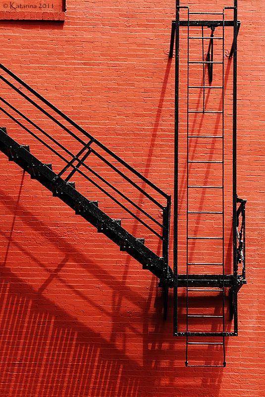 Пожарная лестница картинка