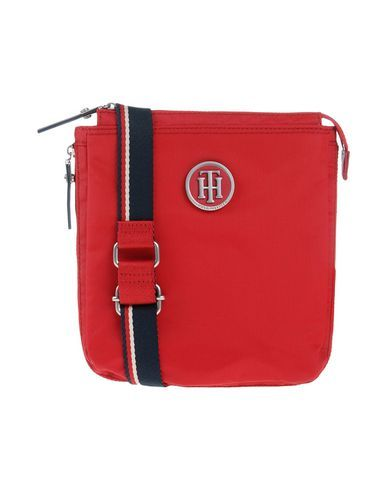 TOMMY HILFIGER . #tommyhilfiger #bags #shoulder bags #hand bags #nylon #