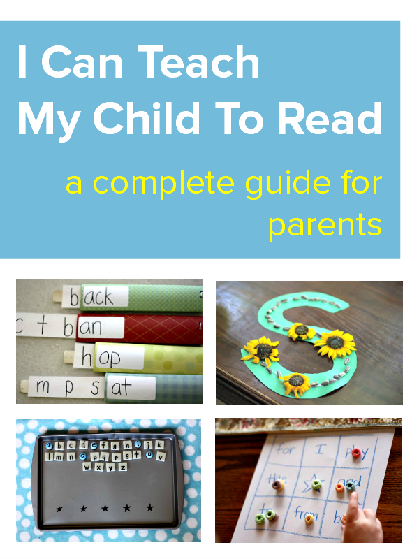I Can Teach My Child To Read Creative Writing For Kids Teaching Parenting