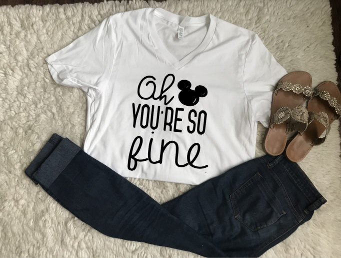 046c0cfb Oh Mickey you're so fine! All disney lovers need a perfect shirt for