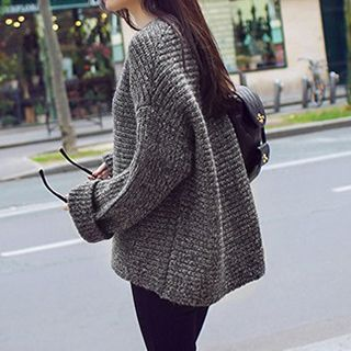 Buy 'FR – Boxy Chunky Knit Sweater' with Free International ...