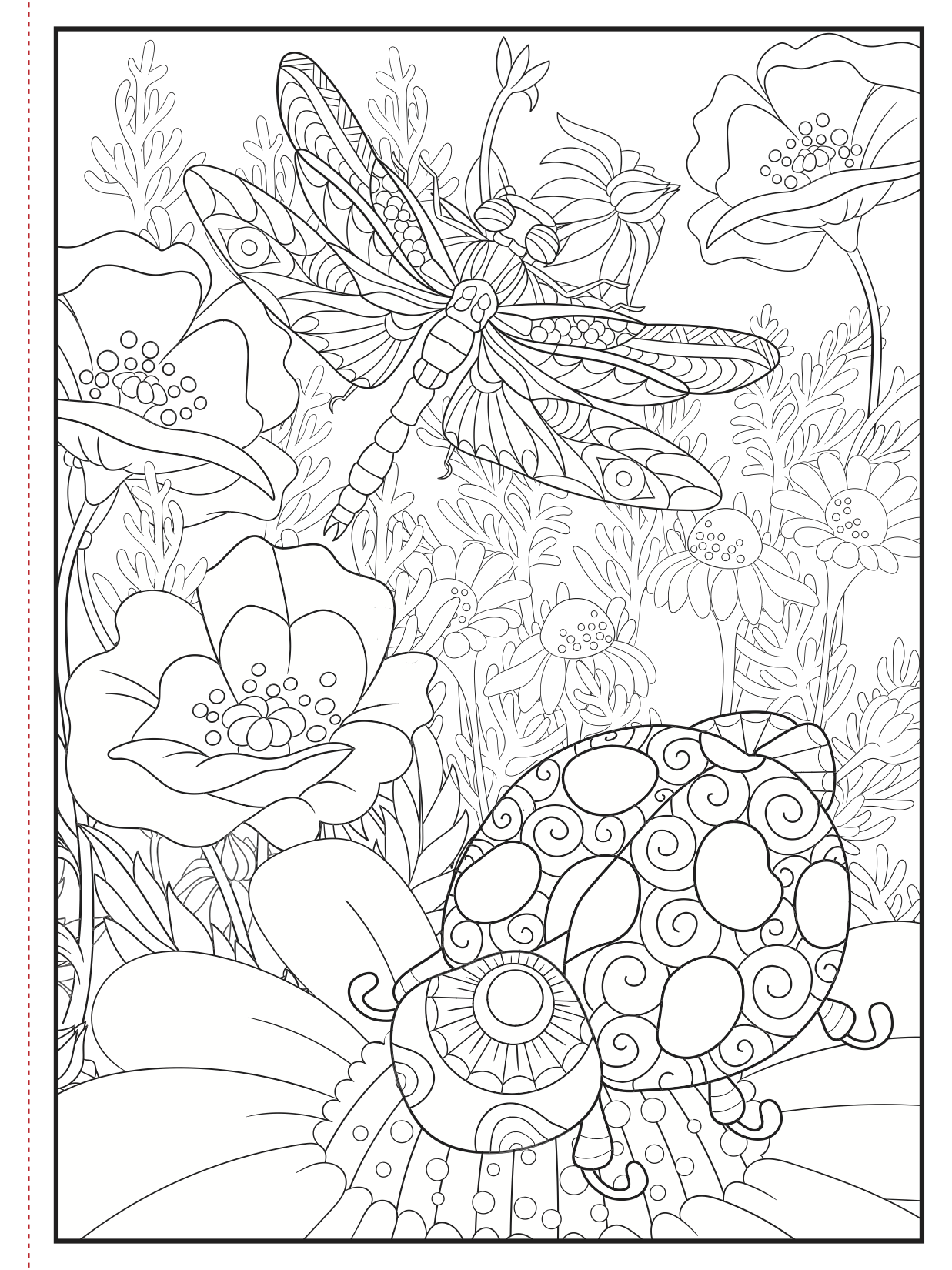 Choose From A Variety Of Free Coloring Pages From Our Coloring Book Colors In Bloom Freeprin Bug Coloring Pages Geometric Coloring Pages Bird Coloring Pages