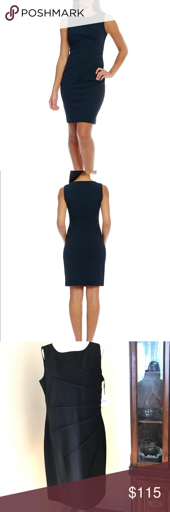 Calvin Klein Starburst Side Sheath Dress Fashion Fashion Tips Clothes Design