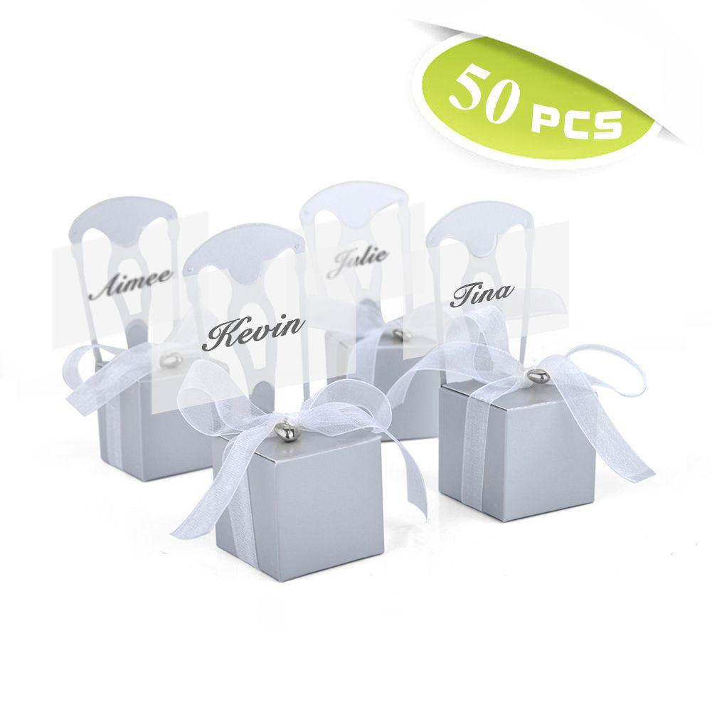 Wedding Favor Box Wedding Party Favors Chair