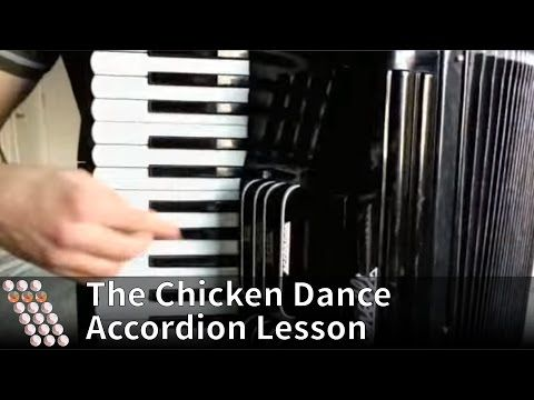 The Chicken Dance - How to play on accordion - YouTube