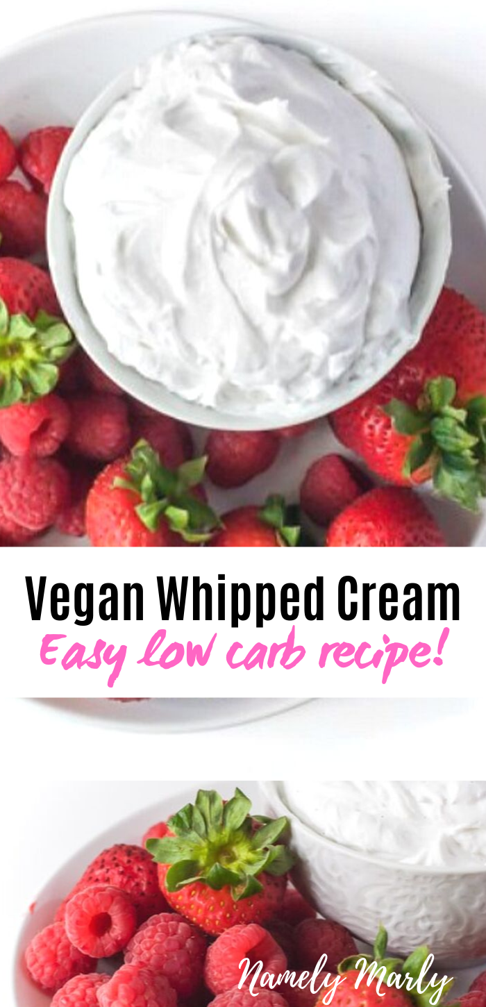 Coconut Whipped Cream Vegan Low Carb Vegan Whipped Cream Recipes With Whipping Cream Nut Free Desserts