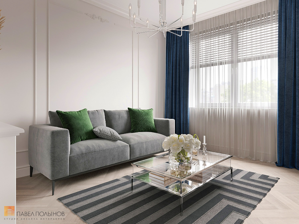 Фото домашний кабинет из проекта «Квартира в стиле ...