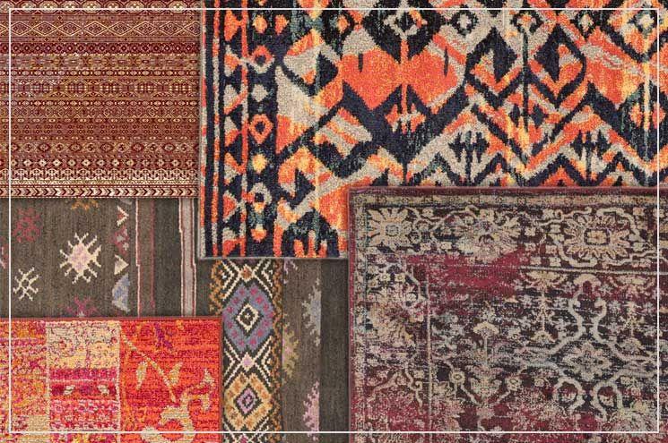 Teppiche Im Ethno Stil Warme Erdtone Treffen Auf Aussergewohnliche Muster Benuta Teppich Ethno Interior Rug Ethno Stil Stil Ethno