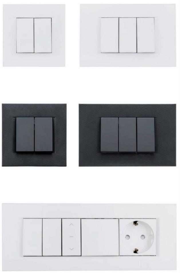 VISIO Lichtschalter - zeitlose Eleganz - Schrack Technik | Schalter ...