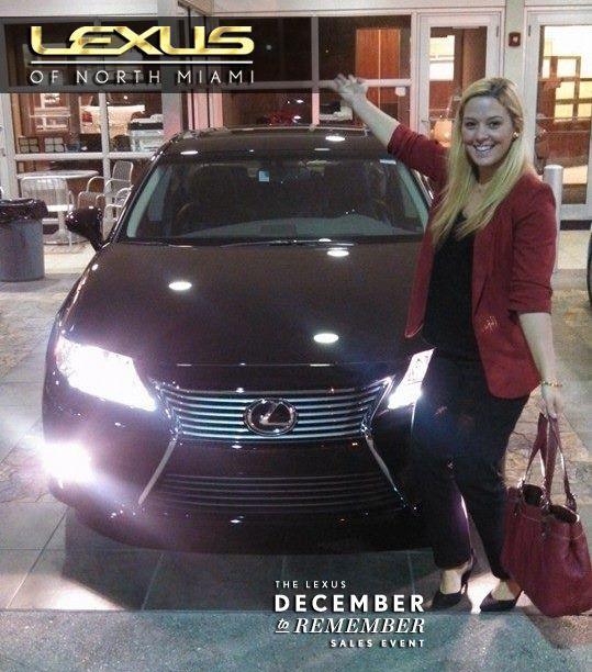 Congrats to Samantha Fischbach on her new 2014 Lexus ES