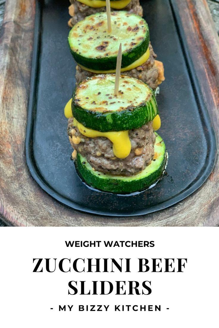 Zucchini Beef Sliders