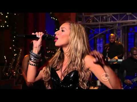 Leona Lewis I Got You Live Performance On The David Letterman Show Hd Hifi Love This Song David Letterman Show David Letterman Leona Lewis