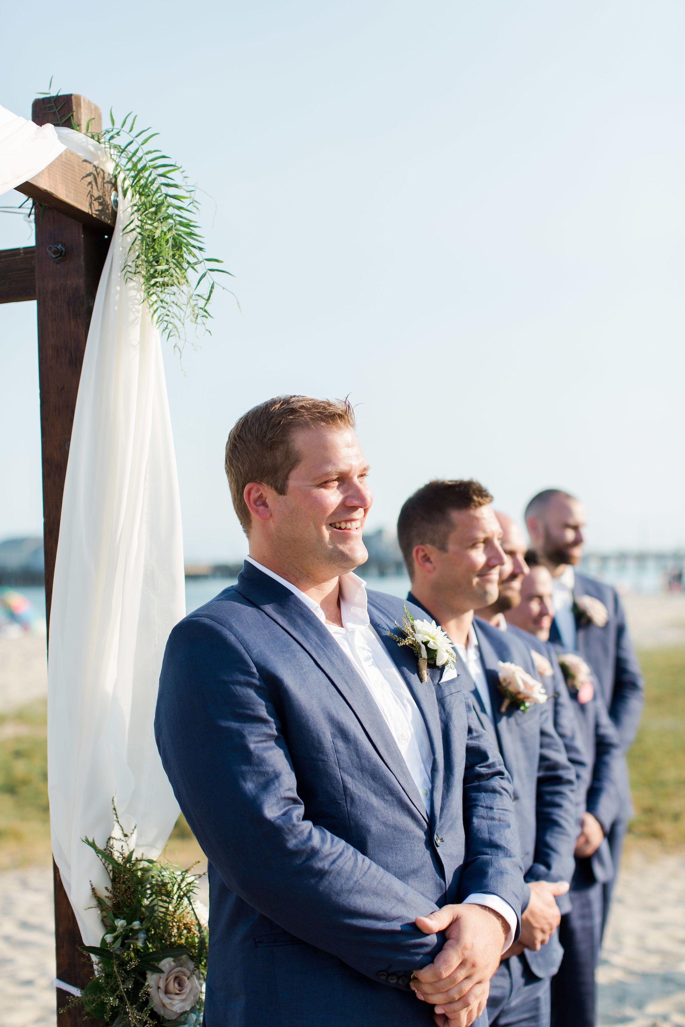 Beach wedding decorations diy  Alex u Harrison in   Jane Alexandra Events Weddings on the Blog