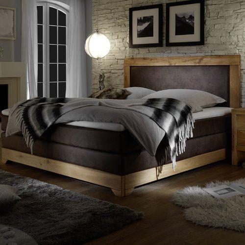 Schlafzimmer Einrichten Boxspringbett: Home Loft Concept Boxspringbett Mit Topper