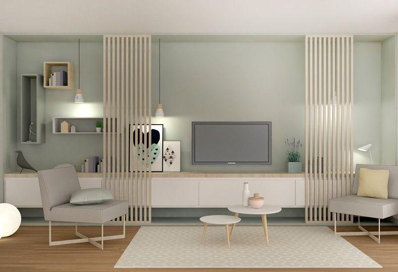 ambiance scandinave, aménagement, lyon, décoration, meuble sur ...