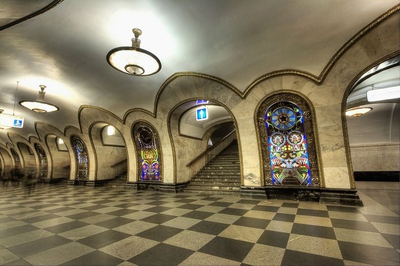 Top 10 Best Underground Wonders Of World You Must Visit Moscow Metro Metro Station Beautiful Places
