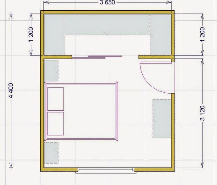 Entwerfen Sie Einen Begehbaren Kleiderschrank Mindestgrossen Und Masse Fur Heimwerker In 2020 Wohnung Schlafzimmer Innenarchitektur Schlafzimmer Feng Shui Schlafzimmer
