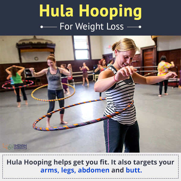 Trim your waistline with a super fun workout! Try the hula
