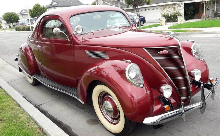 1937 Lincoln Zephyr For Sale Classic Cars Vintage Cars Lincoln