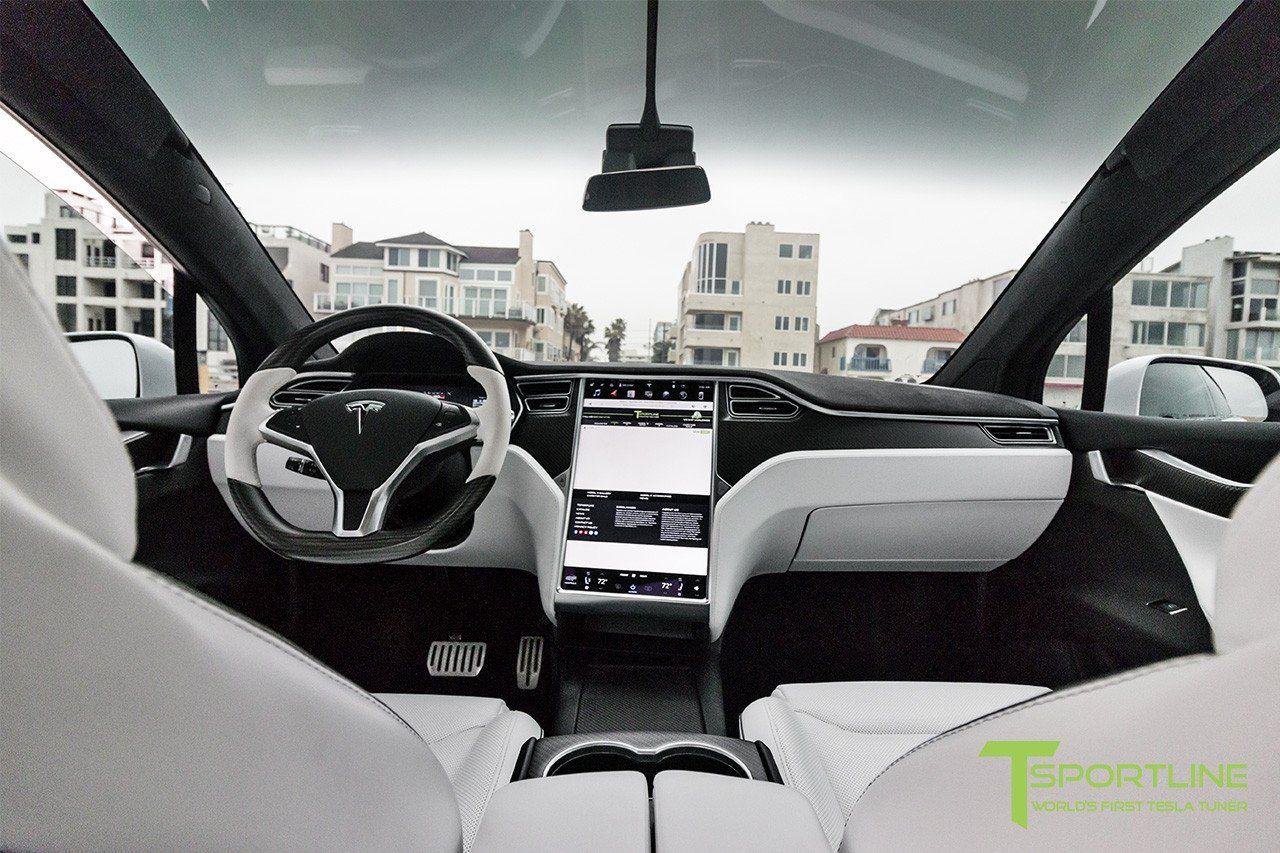 Pearl White Tesla Model X White Interior Tesla Model X Tesla Model Tesla Car Models