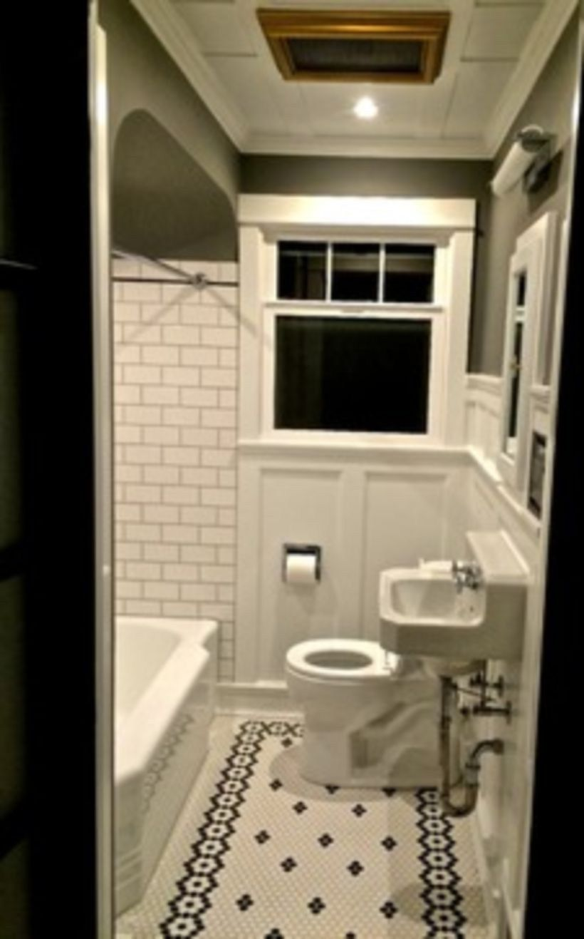 60 Black And White Tile Bathroom Decorating Ideas White Bathroom Tiles Black And White Tiles Bathroom Small Bathroom Makeover