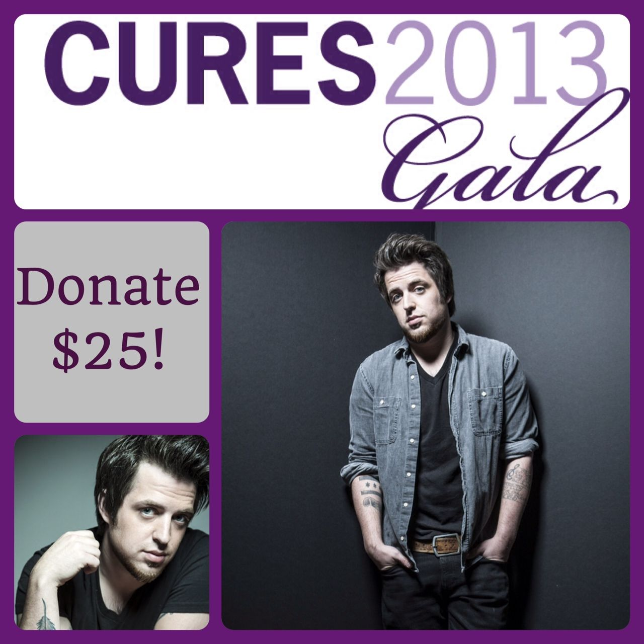 Donate $25 and you could win an autographed guitar by Lee DeWyze. Details here: www.demandcurestoday.org/lee