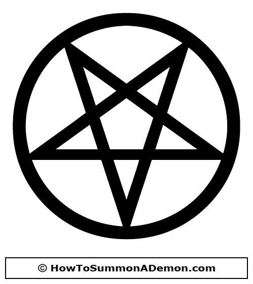 Satanic Pentagram Tattoo Designs