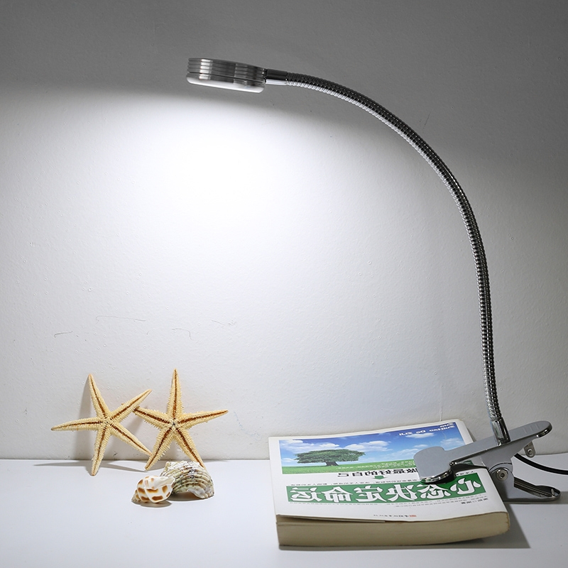 26.07$  Buy now - http://alihrf.shopchina.info/go.php?t=32736322398 - Modern LED Table Lamps Creative Reading Desk Lamps Bedside Lamp Eye Protection led 6W Flexible With Clip Warm/White in one Light  #shopstyle