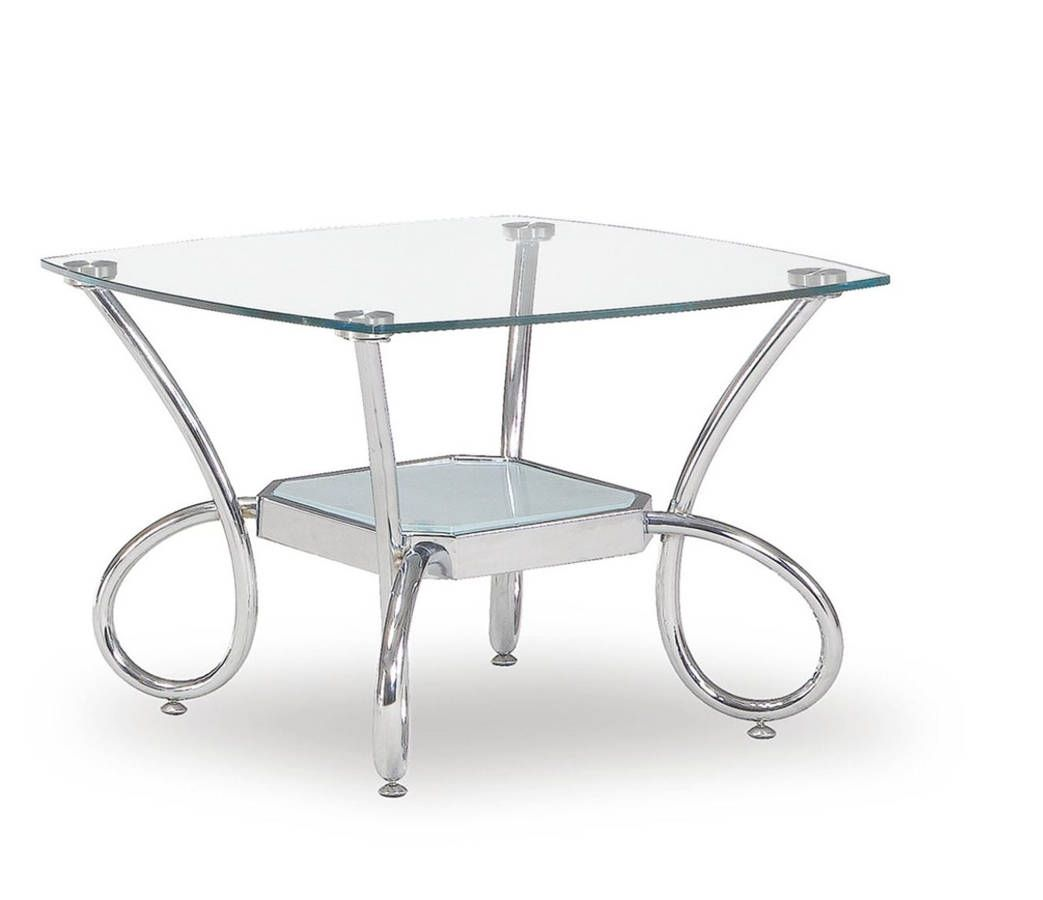 Global Furniture T559 Silver End Table Global Furniture End Tables Furniture