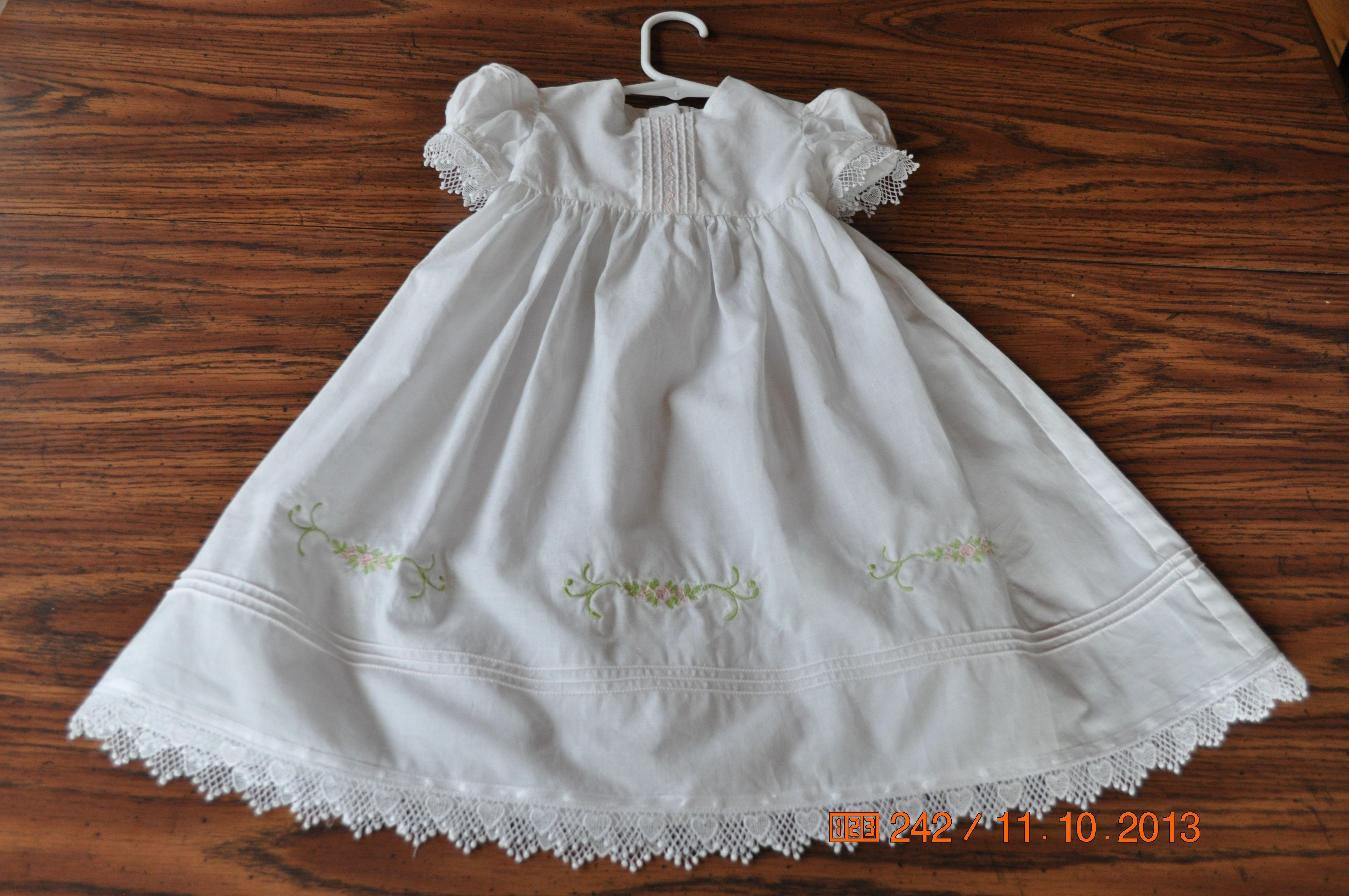 Blessing dress for Sydney Blessing dress, Dresses