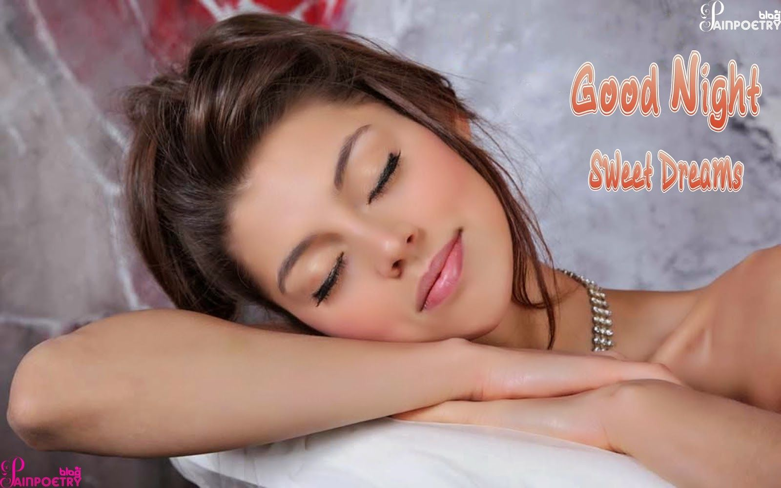 Good Night Romantic Wallpapers With Girl Photo And Sweet Dreams Hd Romantic Good Night Good Night Wallpaper Good Night Image Sweet dreams good night images hd 1080p