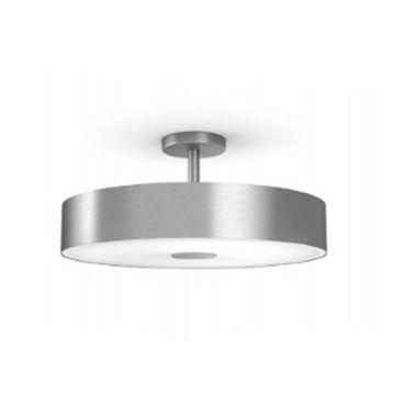 Hue fair semi flush ceiling light philips hue at lightology