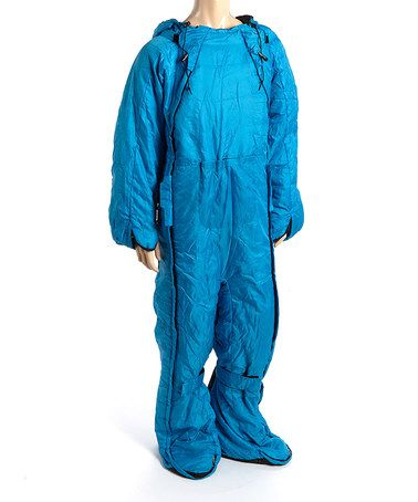 This Blue & Black Sleeping Bag Suit - Adult by DOPPELGANGER OUTDOOR is perfect! #zulilyfinds