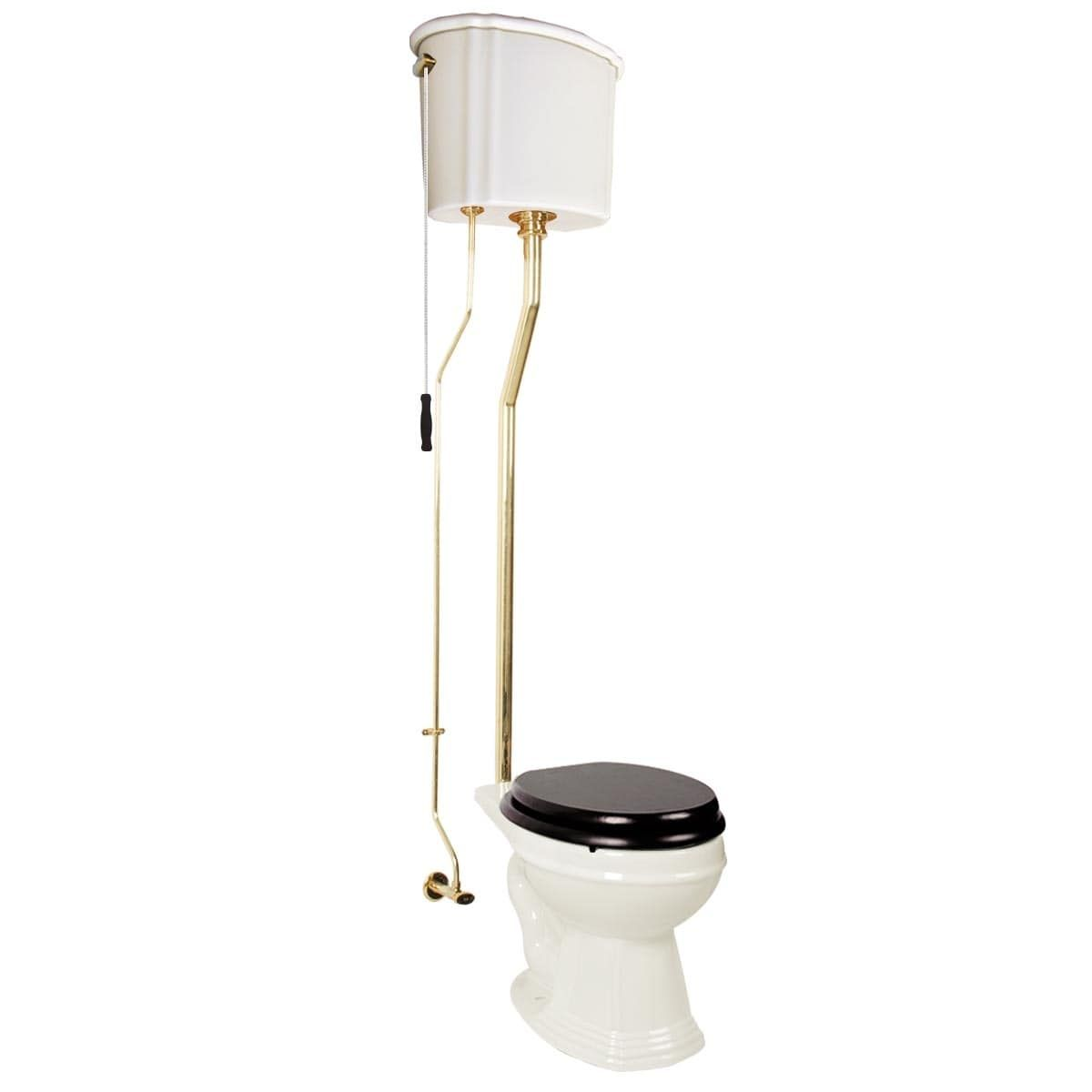 Pull Chain Toilet Pull Chain Toilet With Biscuit China Finish Brass Lpipe And Round