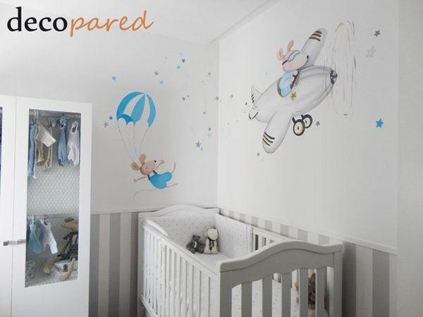 Resultado de imagen de mural pared infantil   Mia sobrinos ...