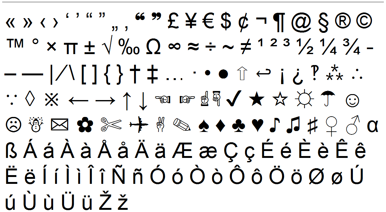 Special characters and symbols these are all the characters special characters and symbols these are all the characterssymbols copypastecharacter supports so biocorpaavc Image collections