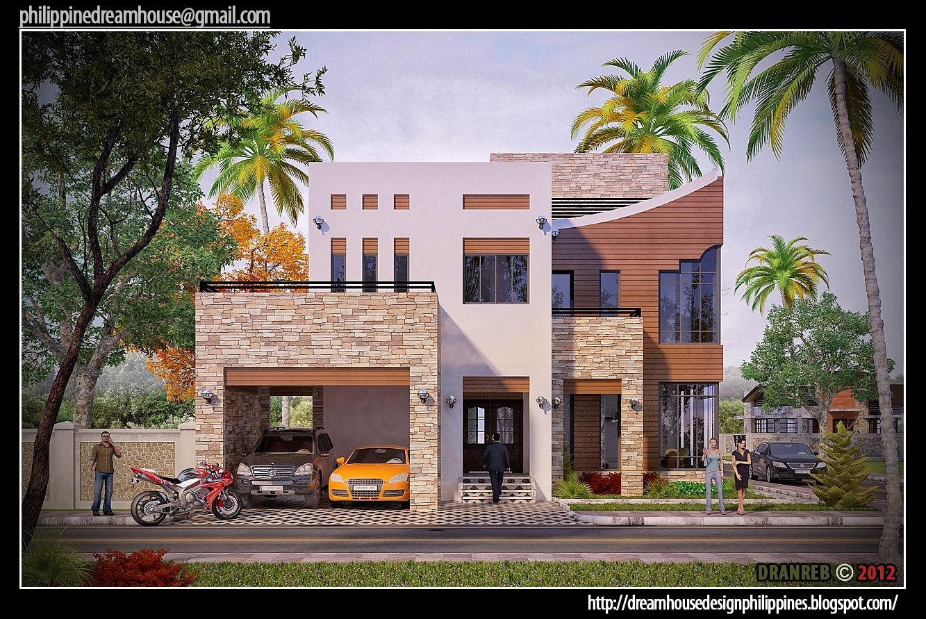 front house design philippines dream house design