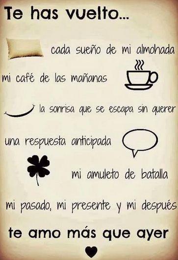 Frases De Amor Cortas Y Bonitas Frases Pinterest Love Love