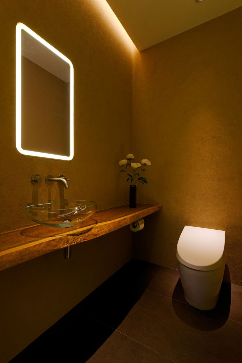 狭くても快適な空間にしたい トイレのインテリア特集 和モダン