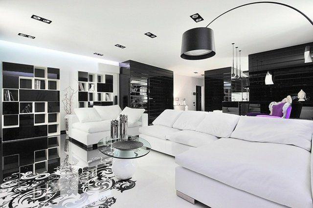 Décoration et design du salon moderne en 107 idées superbes ...