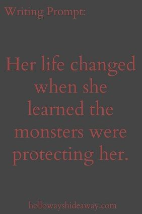 Monster protection.