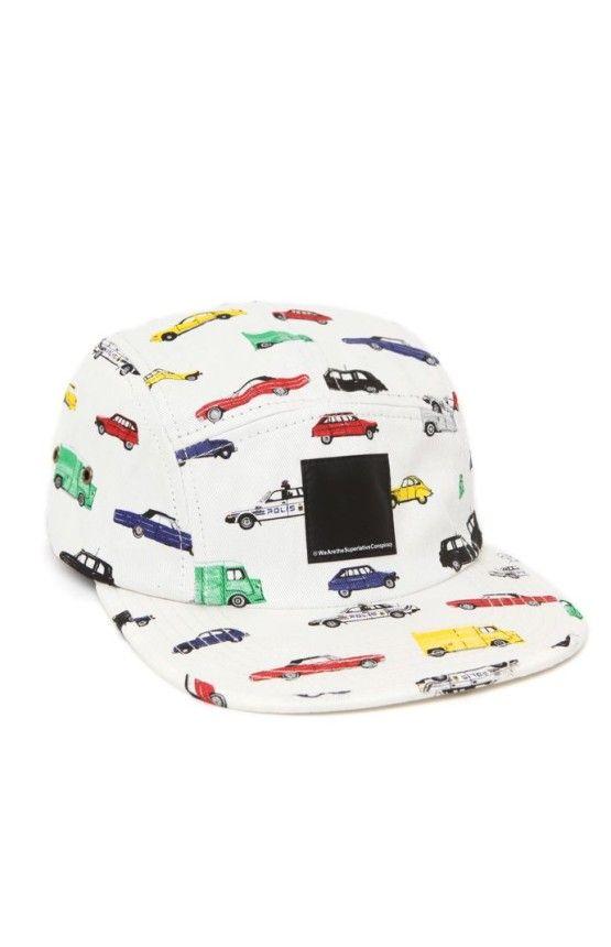 18380d2ea4f Mens Wesc Hats   Beanies - Wesc Autobahn 5 Panel Hat