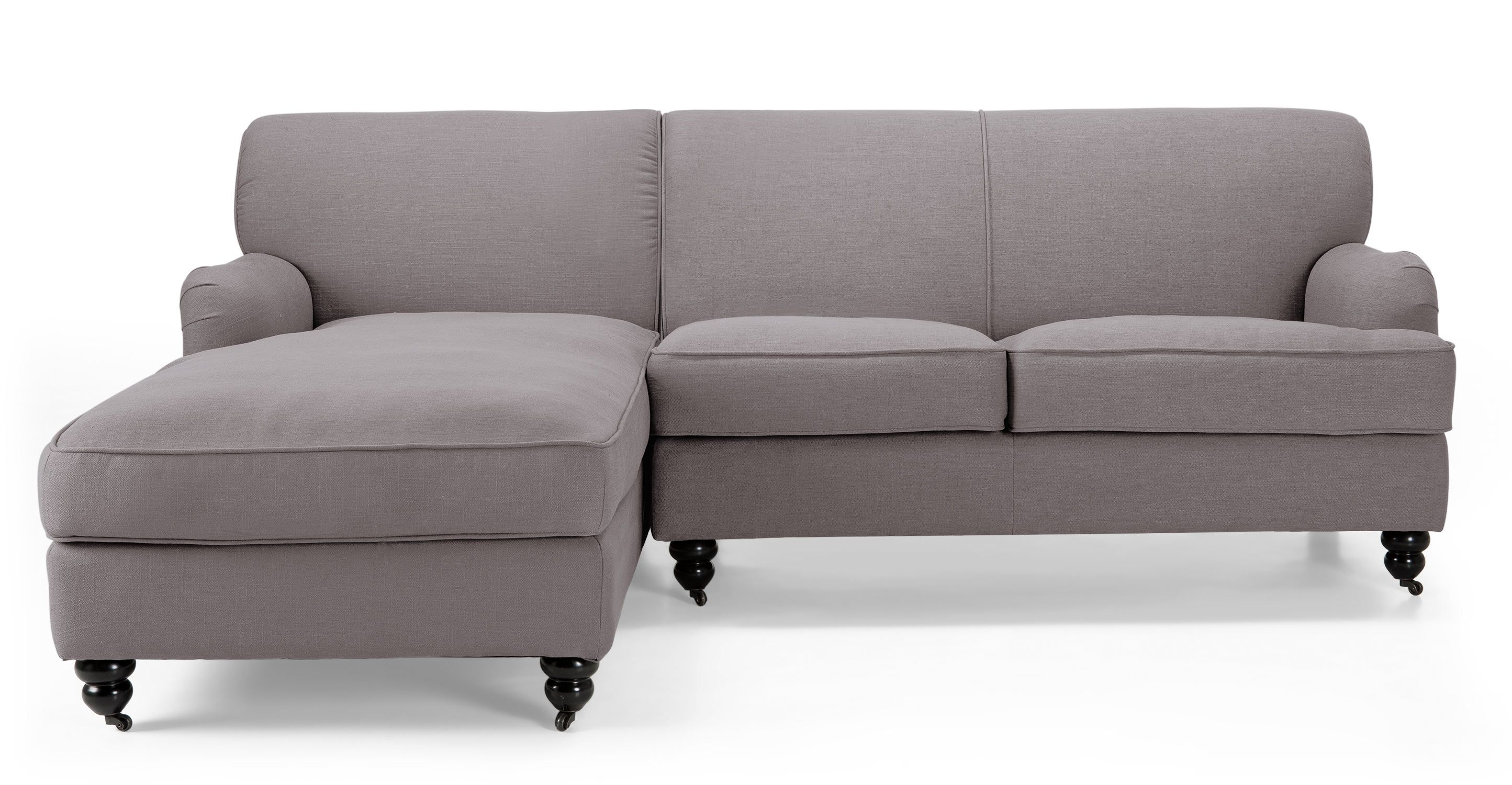Orson Left Hand Facing Corner Unit, Graphite Grey - sofa? | Back ...