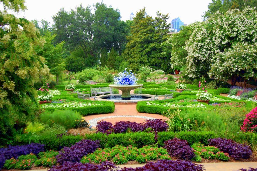The Atlanta Botanical Garden Is A 30 Acres Botanical Garden