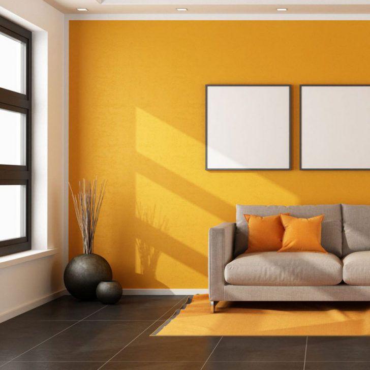 Pared amarilla  decoracion en 2019  Pintura de