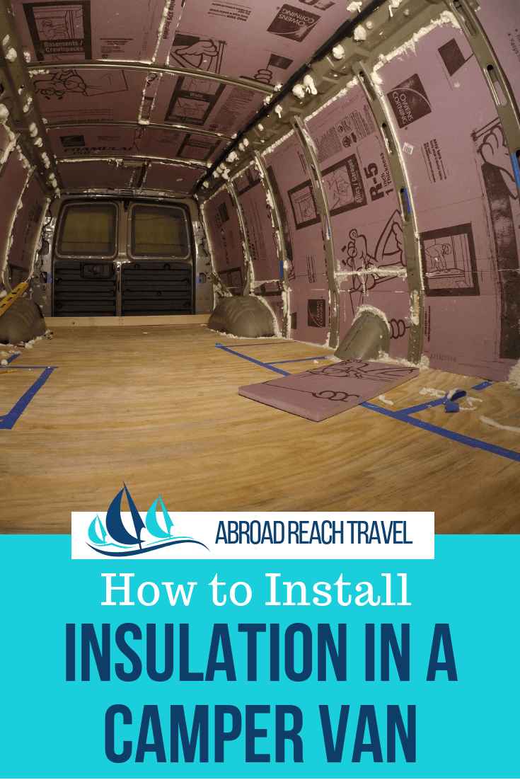 Photo of Step-by-step instructions for installing insulation in a camper van. #vanlife #c…