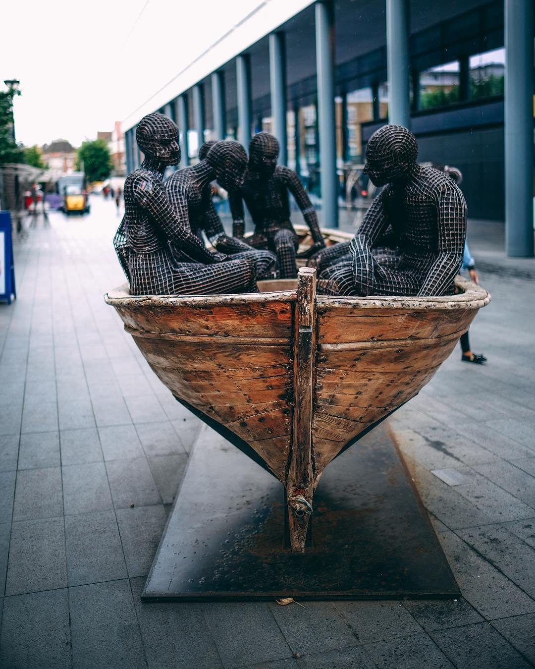Shoreditch Gardens: Sculpture #thisisLondon #sculpture