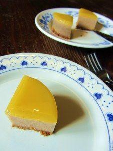Datteltörtchen mit Mandelmilch und Orange *