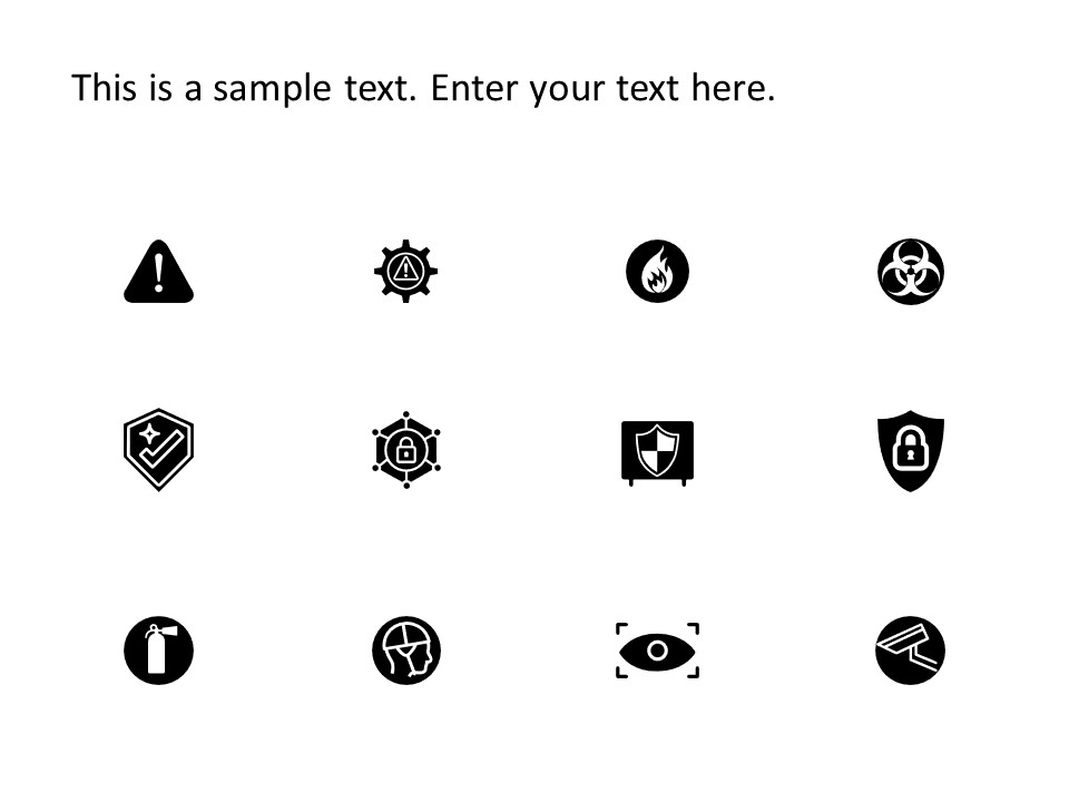 Risk Safety Powerpoint Icons Powerpoint Icon Powerpoint Templates