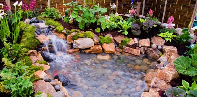 Small Outdoor Water Feature Designs Garden Design